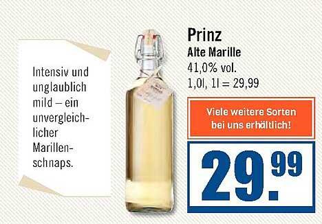 Zisch Prinz Alte Marille