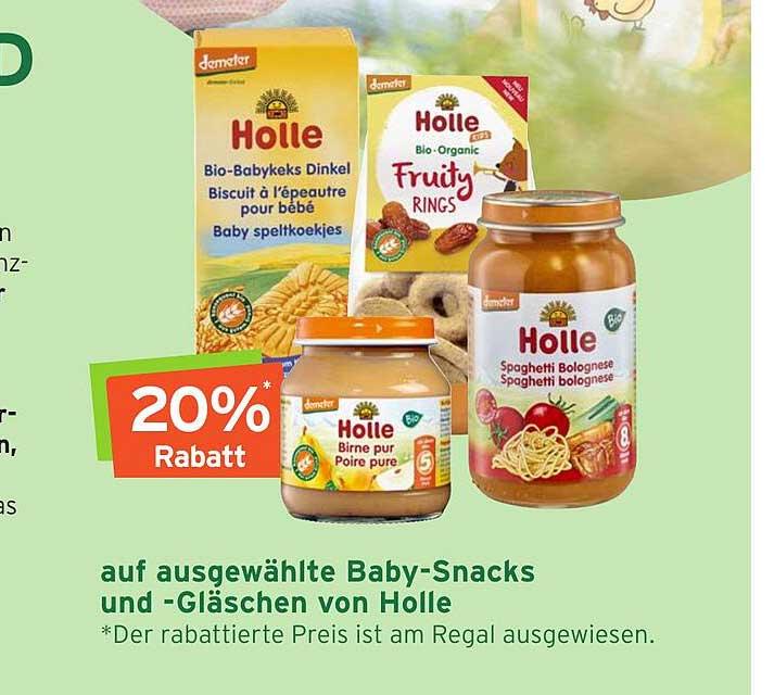 Naturgut Auf Ausgewählte Baby-snacks Und-gläschen Von Holle