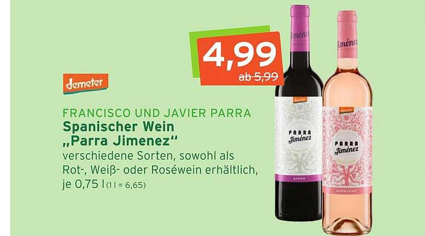 Naturgut Francisco Und Javier Parra Spanischer Wein Parra Jimenez