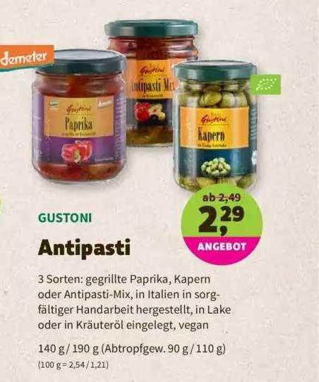 Denns Biomarkt Gustoni Antipasti