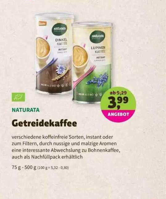 Denns Biomarkt Naturata Getreidekaffee