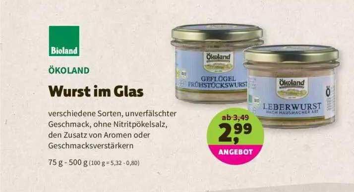 Denns Biomarkt ökoland Wurst Im Glas