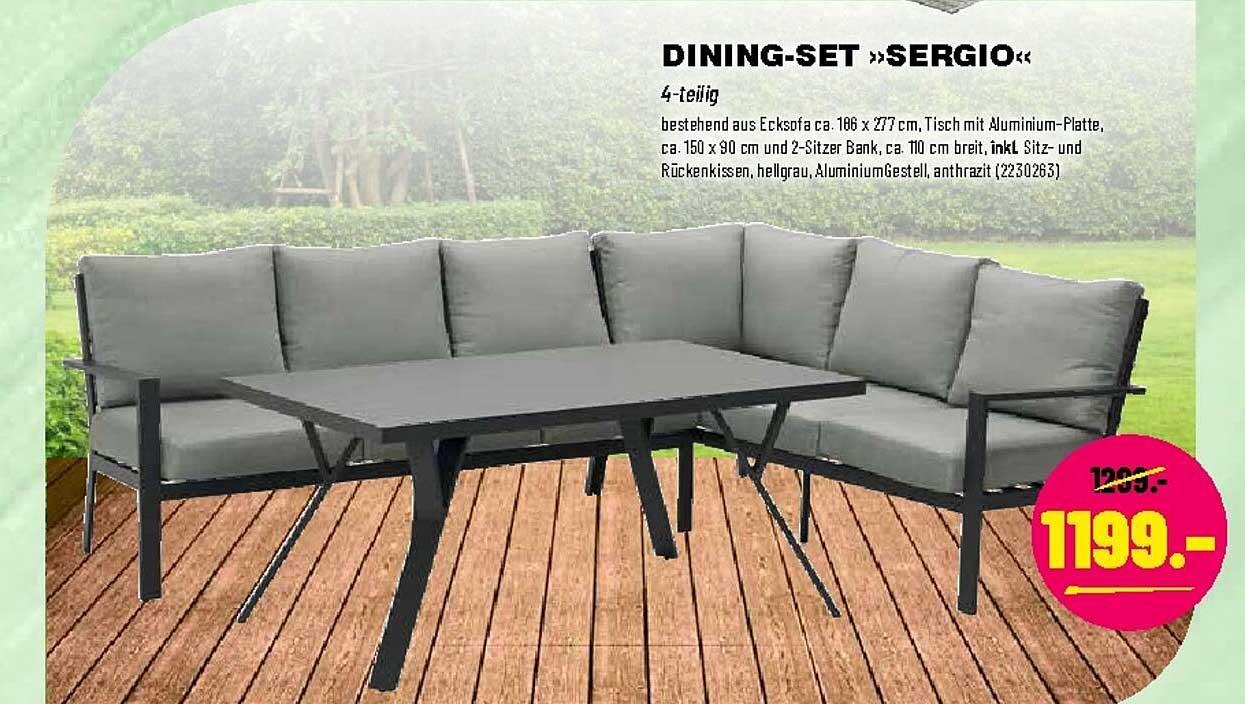 """Leitermann Baumarkt Dining-set """"sergio"""""""