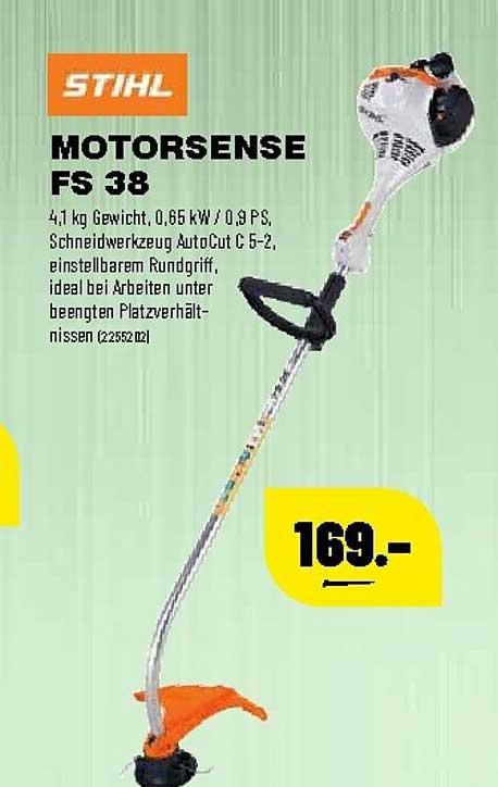 Leitermann Baumarkt Stihl Motorsense Fs38