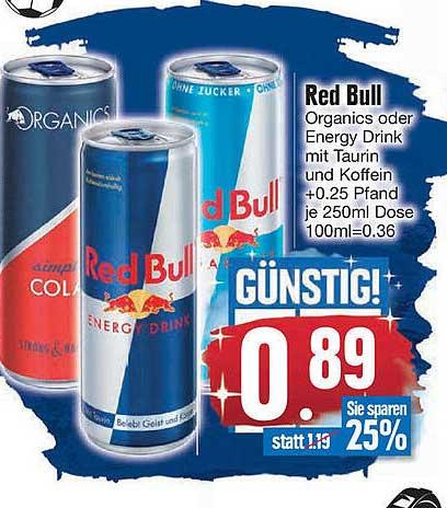 EDEKA Red Bull