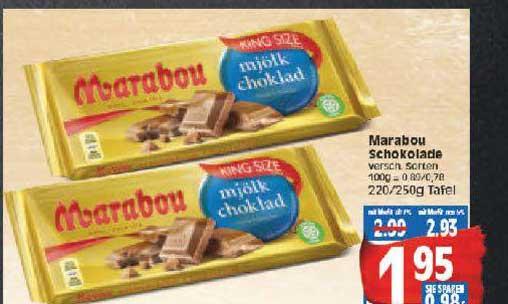 EDEKA Marabou Schokolade