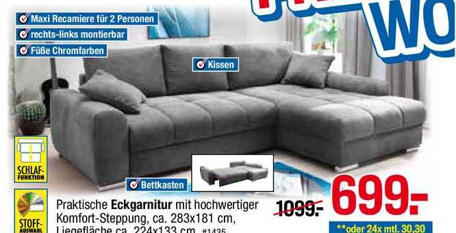 Möbelpiraten Eckgarnitur
