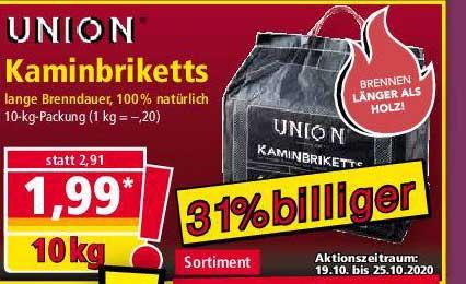 NORMA Union Kaminbriketts