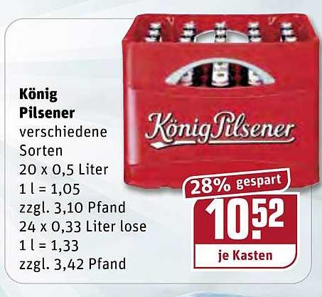 REWE König Pilsener
