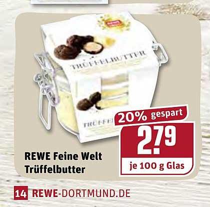 REWE Rewe Feine Welt Trüffelbutter