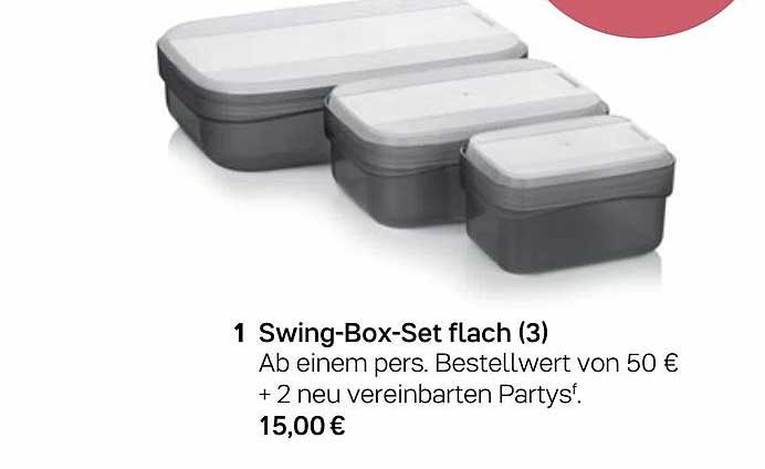 Tupperware Swing-box-set Flach (3)