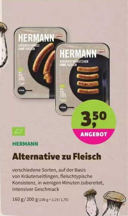Denns Biomarkt Hermann Alternative Zu Fleisch