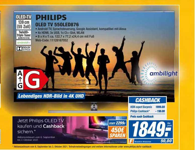 HEM Expert Philips Oled Tv 55oled876