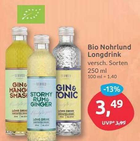 Budni Bio Nohrlund Longdrink