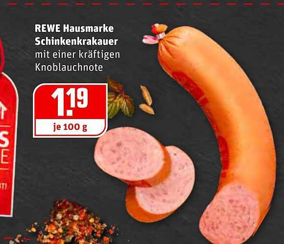 REWE Rewe Hausmarke Schinkenkrakauer