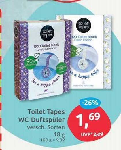 Budni Toilet Tape Wc-duftspüler