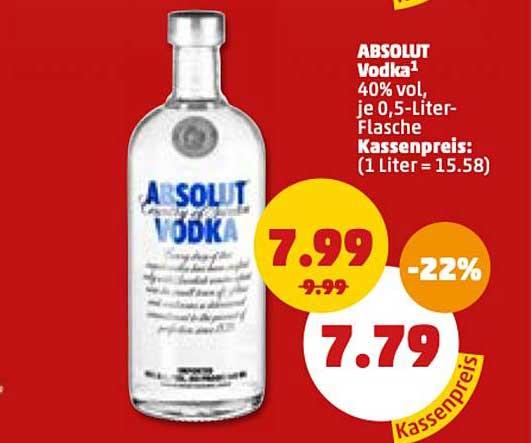 Penny Absolut Vodka