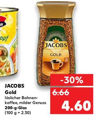 Kaufland Jacobs Gold Kaffee