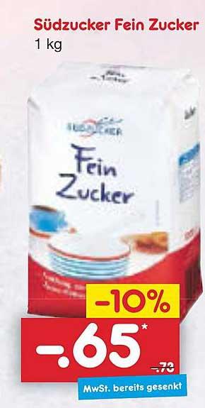 Netto Marken-Discount Südzucker Fein Zucker