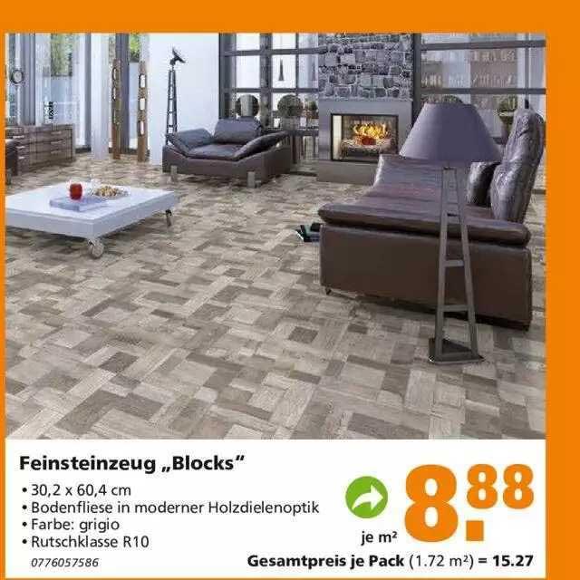"""Globus Baumarkt Fensteinzeug """"blocks"""""""