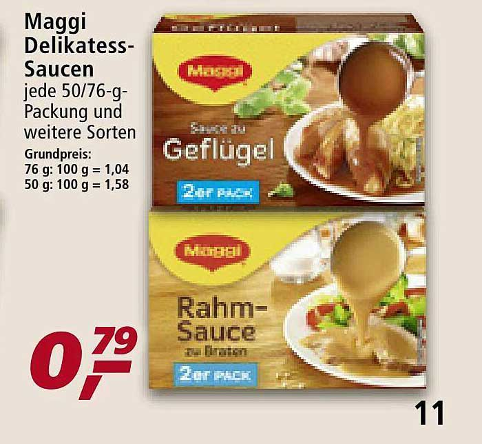 Real Maggi Delikatess-saucen