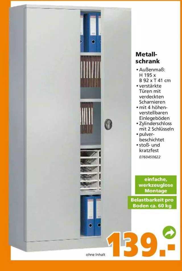 Globus Baumarkt Metallschrank