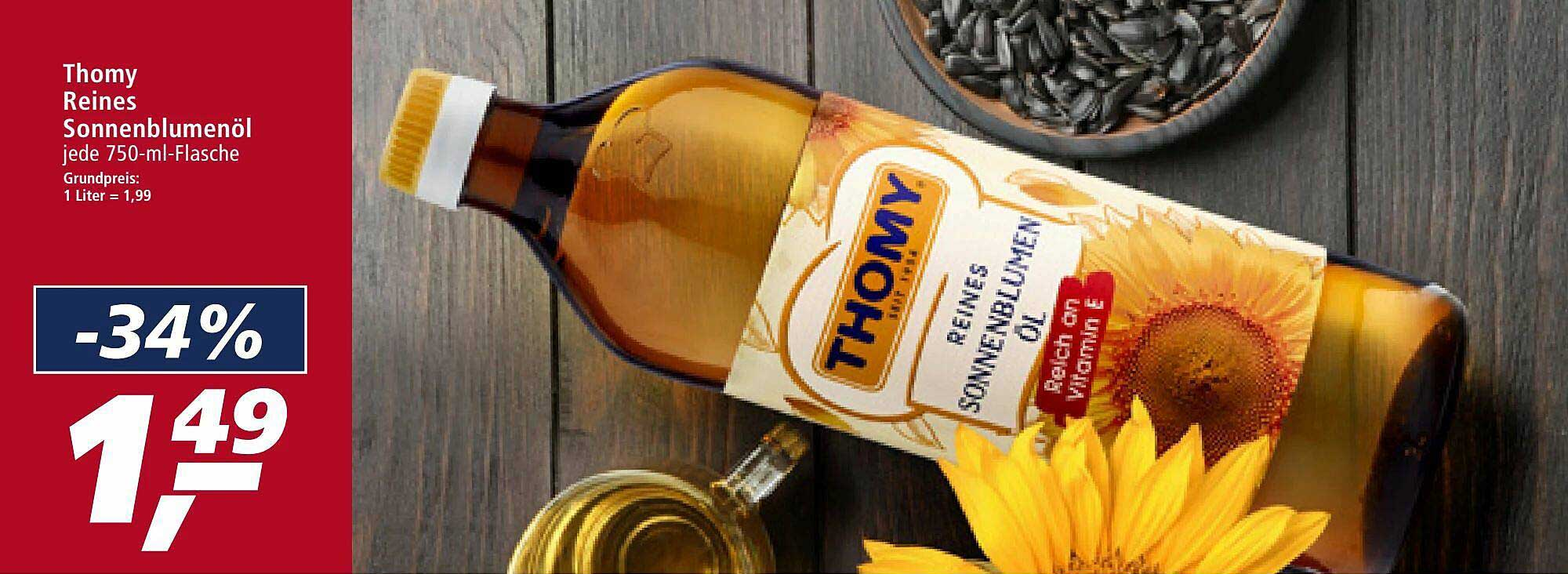 Real Thomy Reines Sonnenblumenöl
