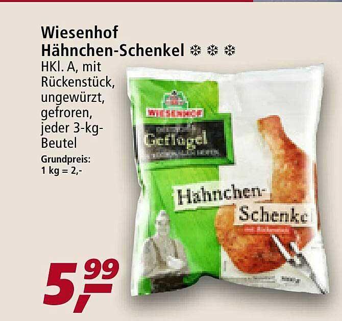 Real Wiesenhof Hähnchen-schenkel