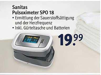 ROSSMANN Sanitas Pulsoximeter Spo18