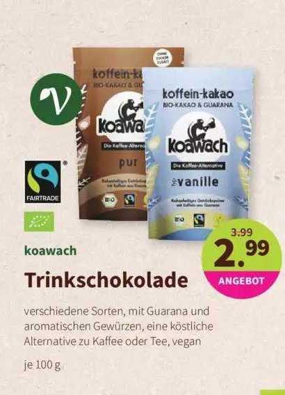 Denns Biomarkt Koawach Trinkschokolade