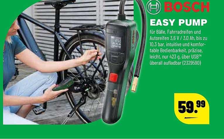 Leitermann Baumarkt Bosch Easy Pump