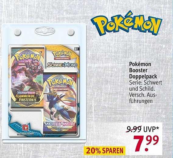 ROSSMANN Pokémon Booster Doppelpack