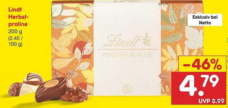Netto Marken-Discount Lindt Herbst-praline