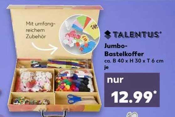 Kaufland Talentus Jumbo-bastelkoffer
