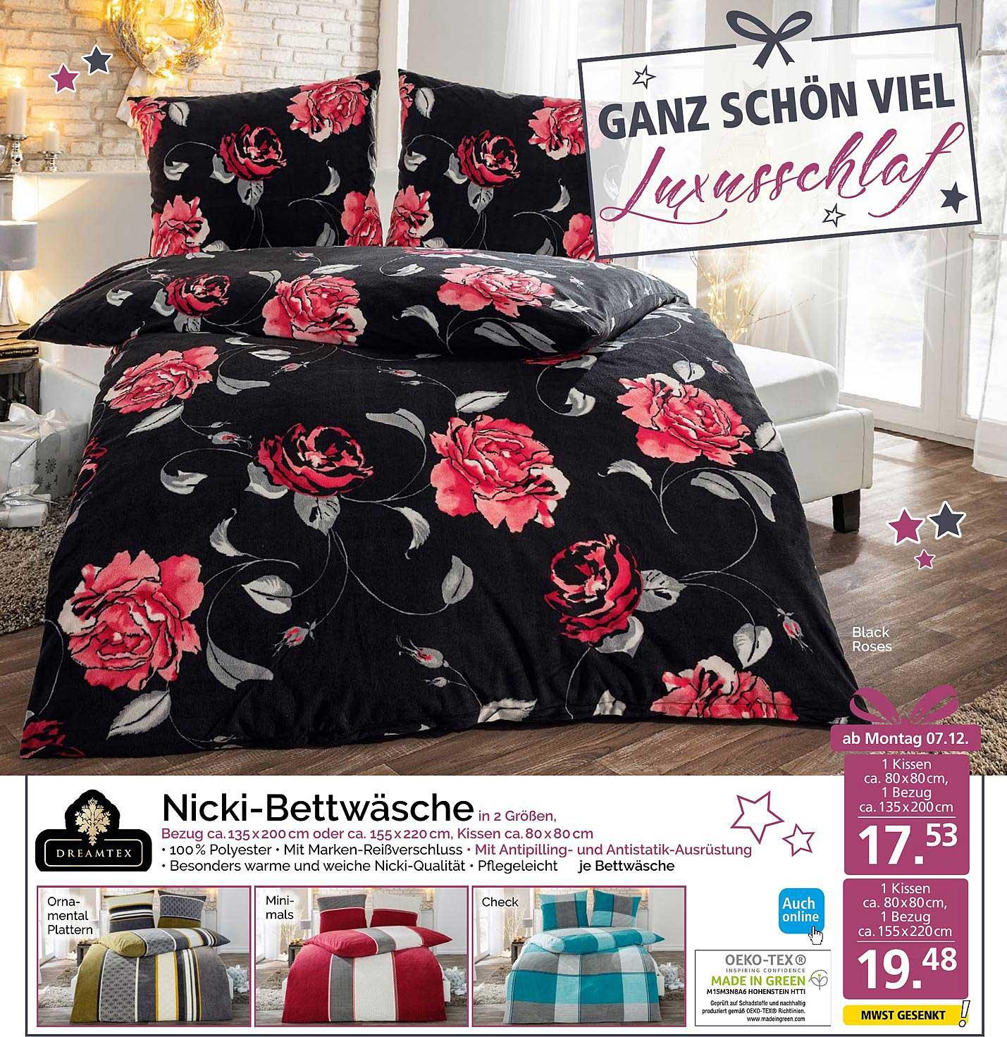 NORMA Nicki Bettwäsche