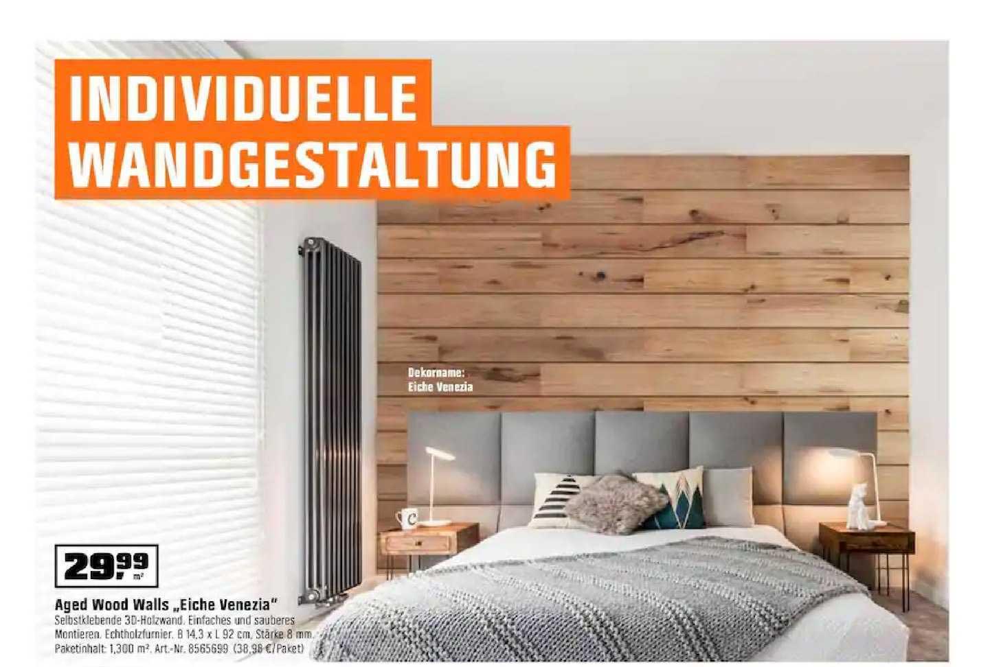 """OBI Aged Wood Walls """"eiche Venezia"""""""