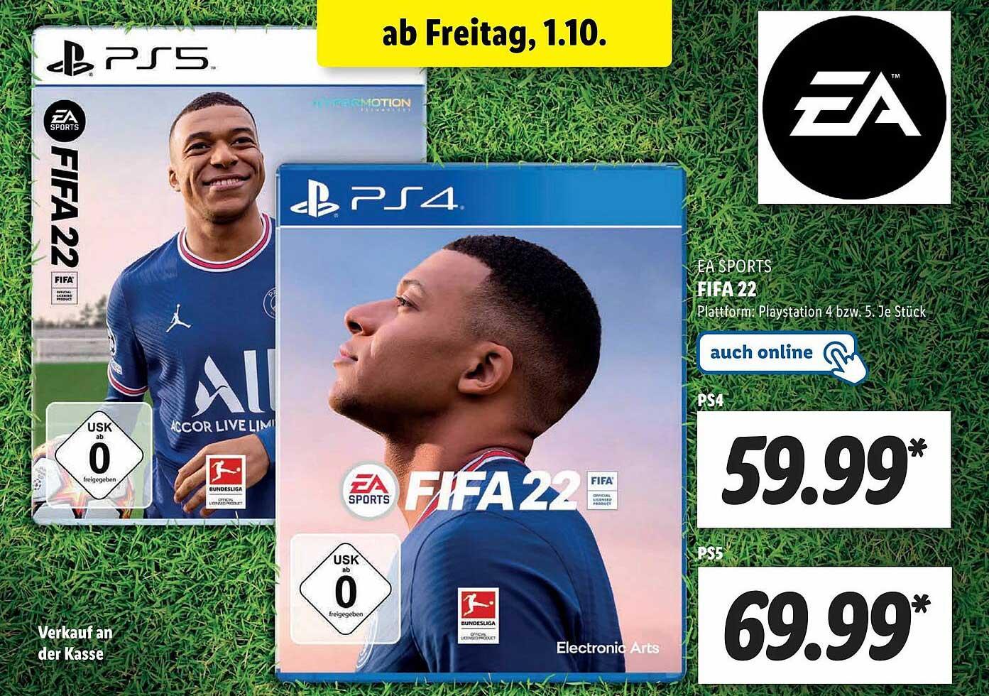 Lidl Fa Sports Fifa 22.