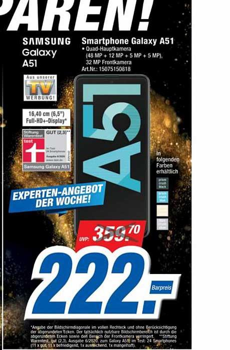 Expert Technomarkt Samsung Galaxy A51