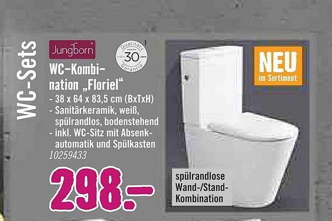 """Hornbach Jungborn Wc-kombination """"floriel"""""""