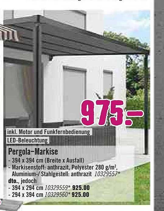Hornbach Pergola-markise