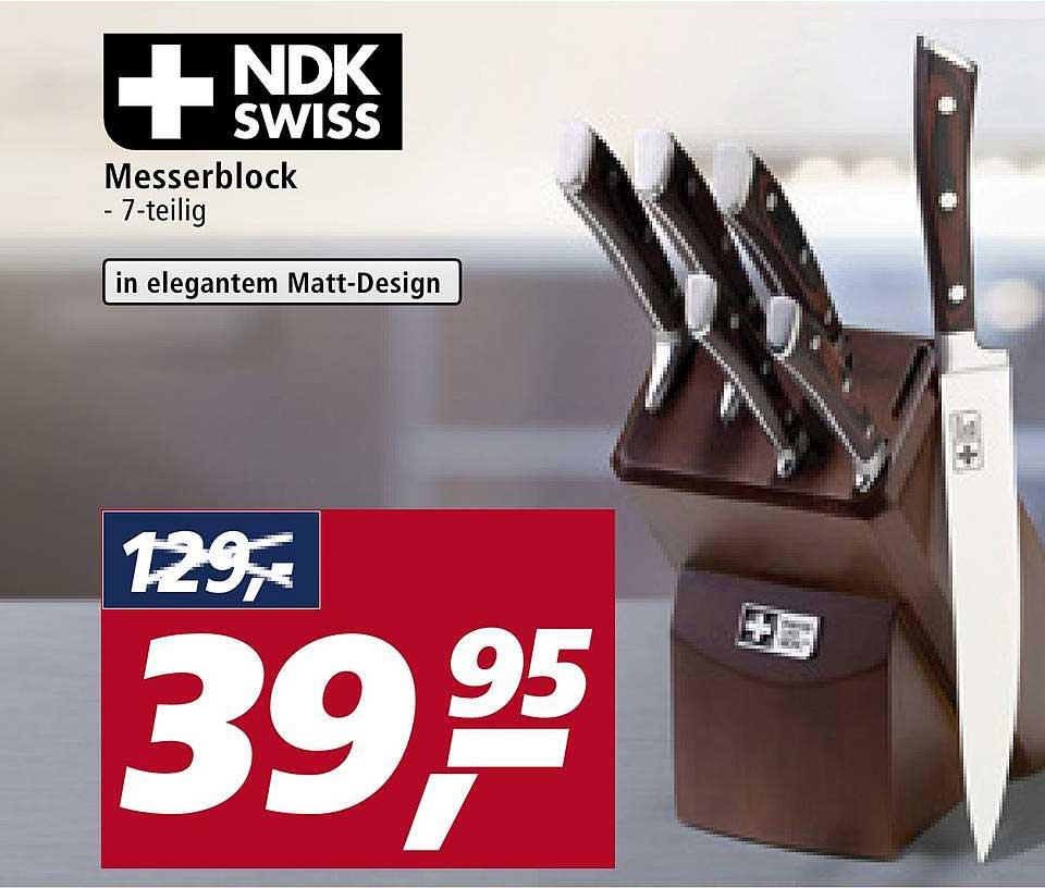Real Ndk Swiss Messerblock