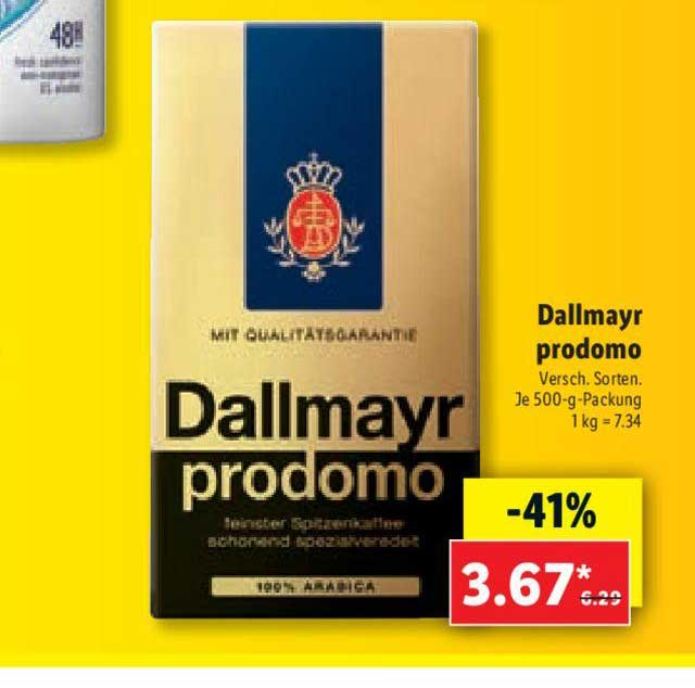 Lidl Dallmayr Prodomo