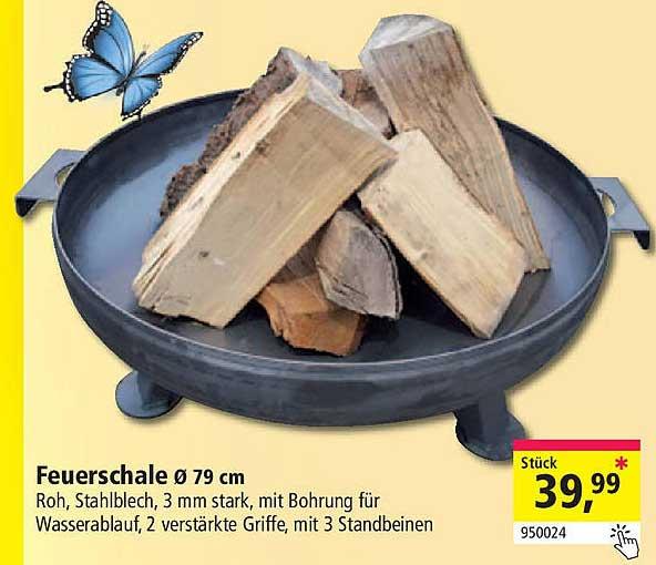 Holz Possling Feuerschale ø 79 Cm
