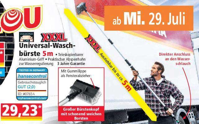 NORMA Xxxl Universal Waschbürste 5 M