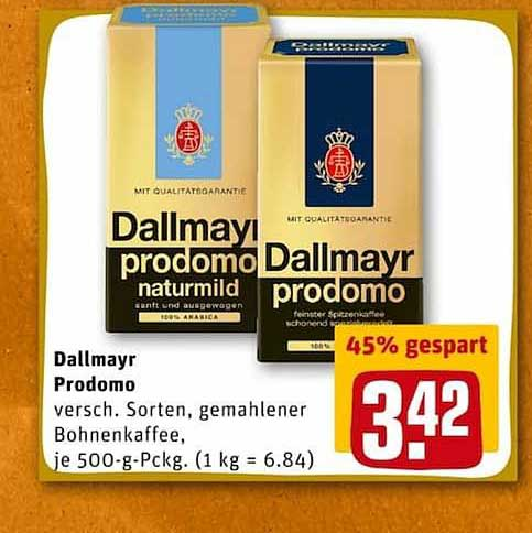 REWE Dallmayr Prodomo