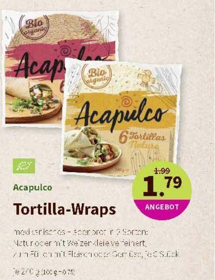 Denns Biomarkt Acapulco Tortilla Wraps