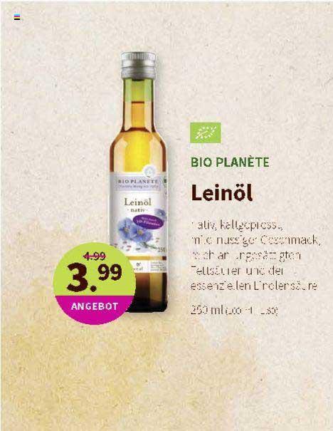 Denns Biomarkt Bio Planète Leinöl
