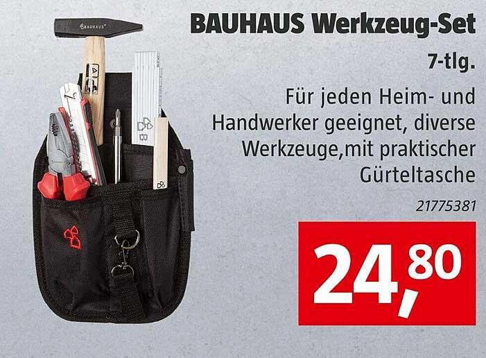 Bauhaus Bauhaus Werkzeug-set