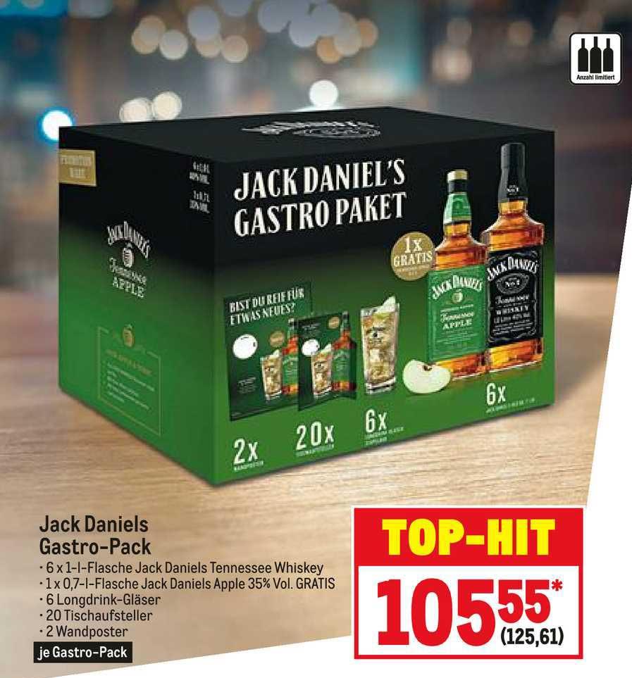 METRO Jack Daniels Gastro-pack