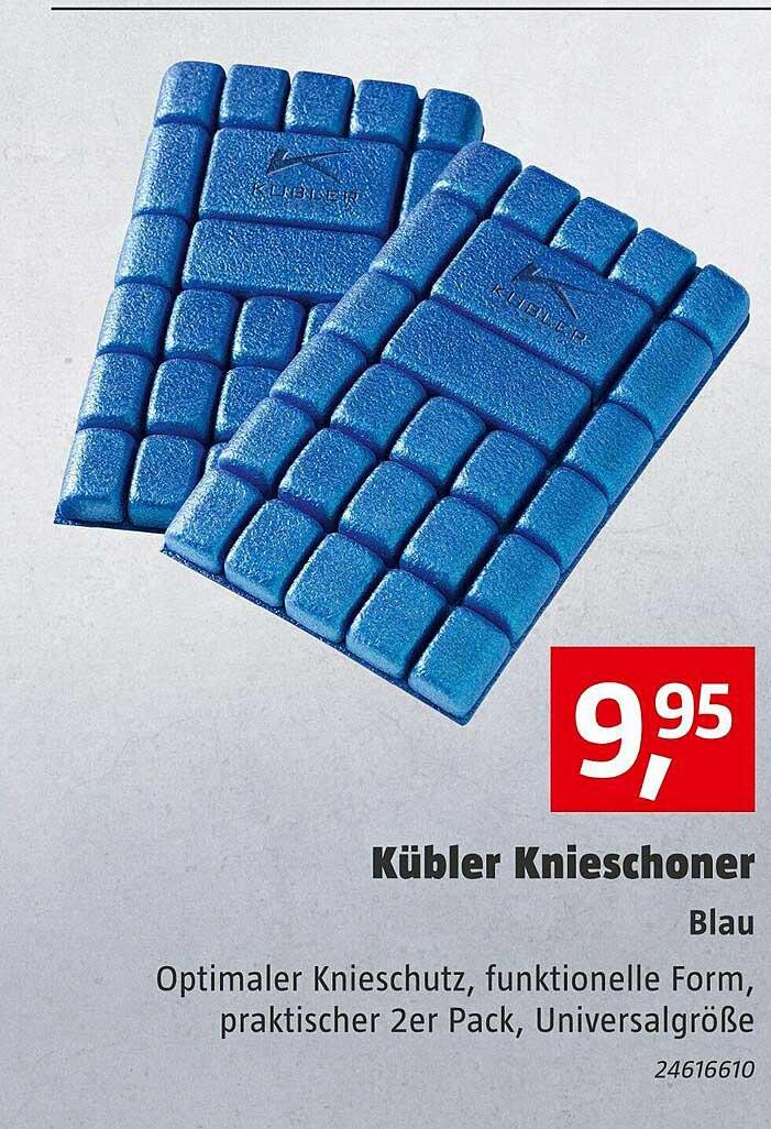 Bauhaus Kübler Knieschoner Blau